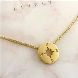 Jewelry - Compass Charm Necklace